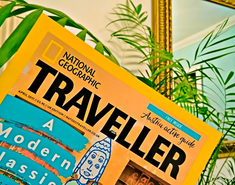 National Geographic Traveller  Subscription April 2017 Cover