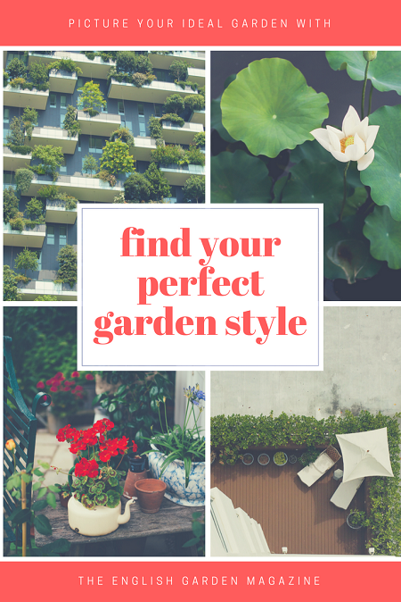 Find your perfect garden style | magazine.co.uk