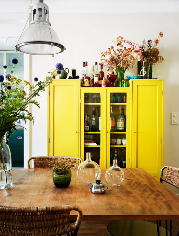 Yellows and Greens | 3 Interior Trends You Need to Know | magazine.co.uk