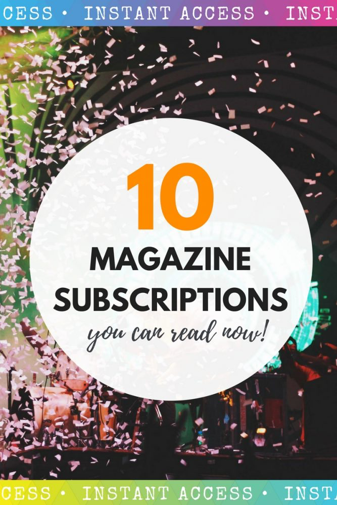 10 magazine subscriptions you can read now | magazine.co.uk