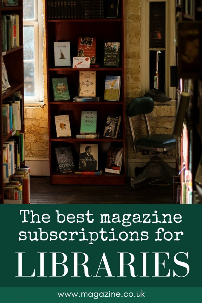 The best magazine subscriptions for libraries | magazine.co.uk