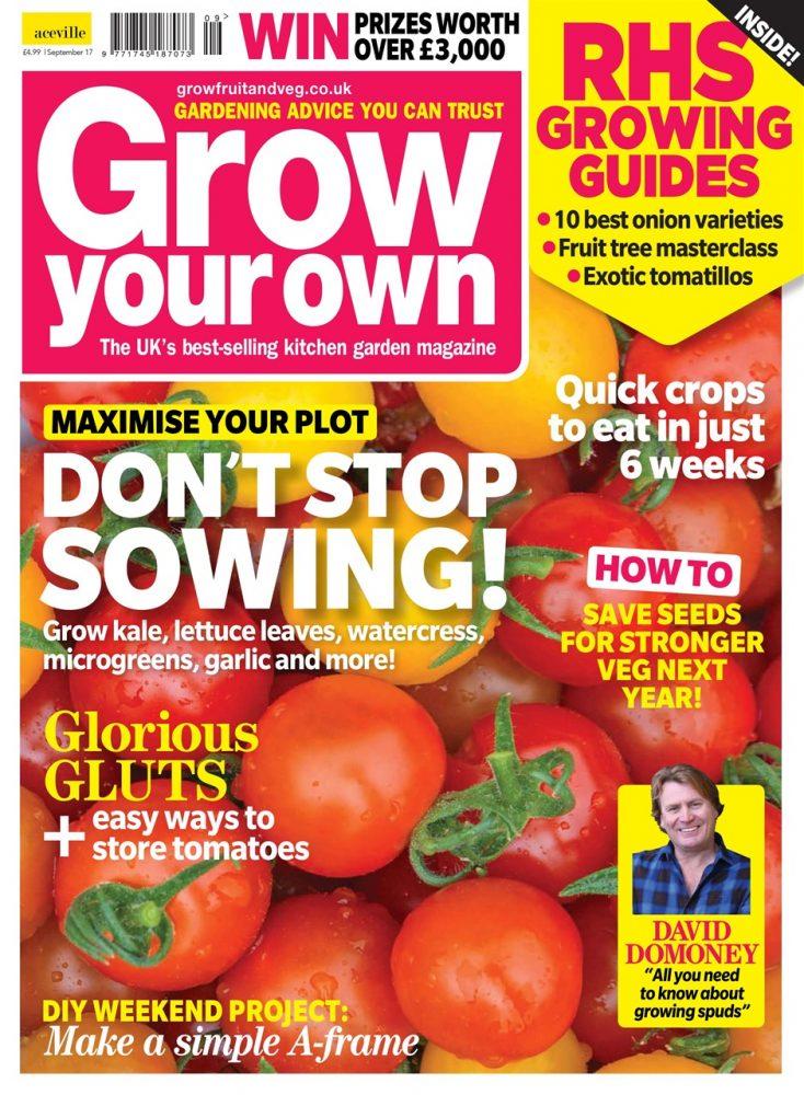 Grow Your Own magazine | The 10 best gardening magazines | magazine.co.uk