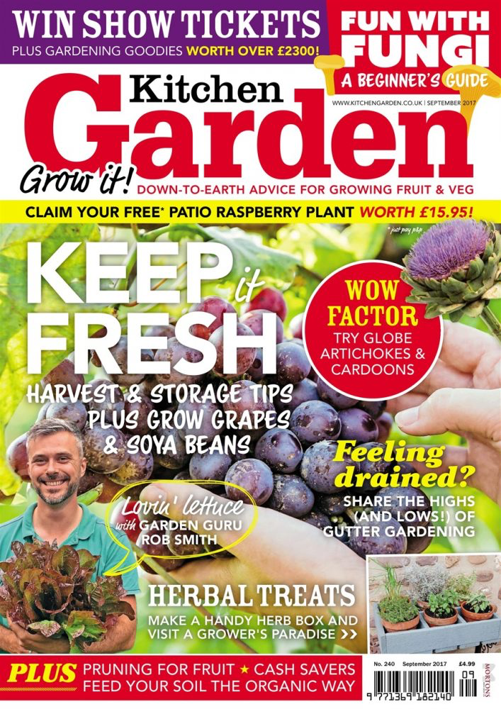 Kitchen Garden magazine | The 10 best gardening magazines | magazine.co.uk