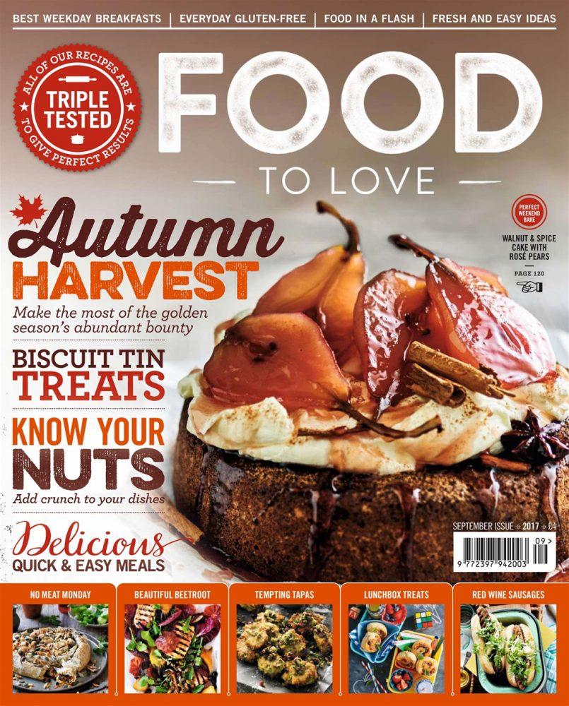 Food to Love magazine | Autumn magazines at magazine.co.uk