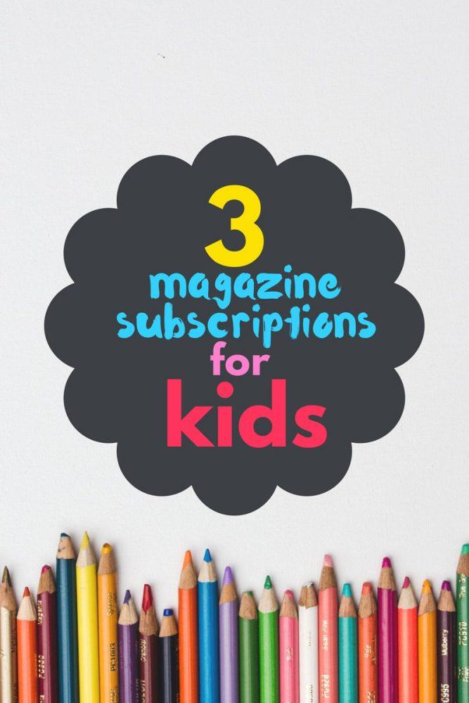 3 magazine subscriptions for kids | magazine.co.uk