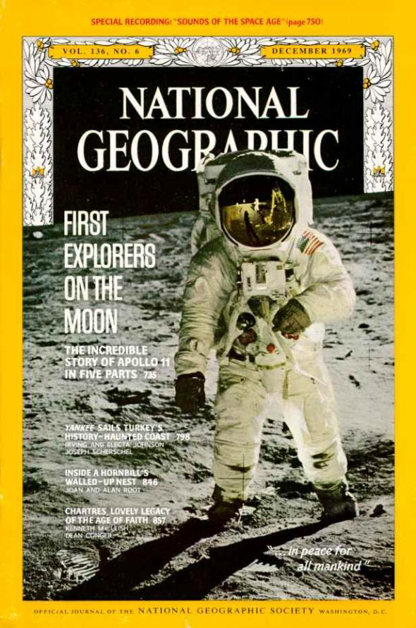 Apollo 11 National Geographic Cover