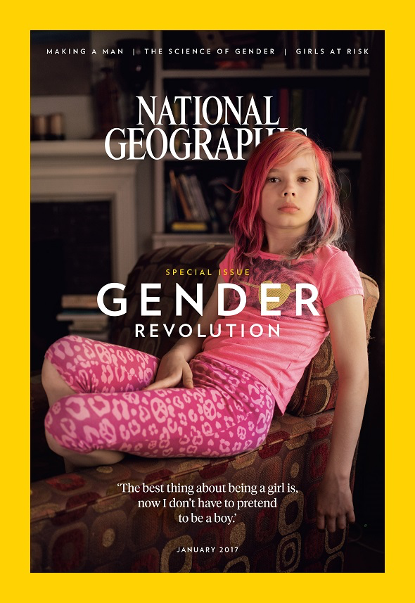 Gender Revolution 2017 National Geographic Cover