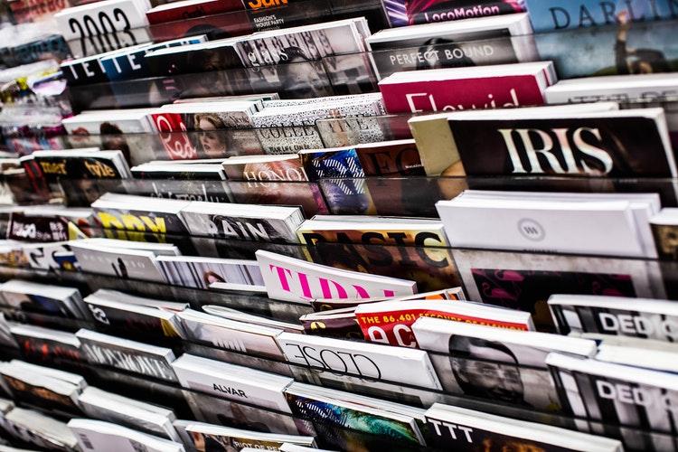 his magazines