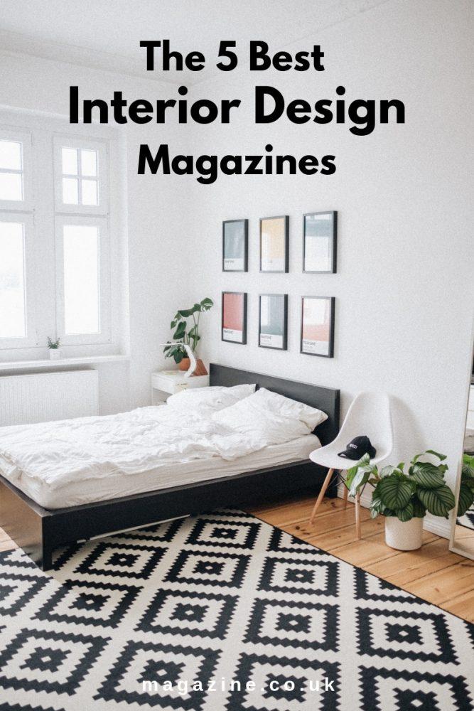 Interior Designed Bedroom - The 5 Best Interior Design Magazines - magazine.co.uk