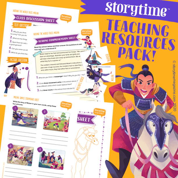 Storytime Teaching Resources Pack