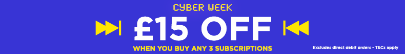 Buy 3 subscriptions get £15 off