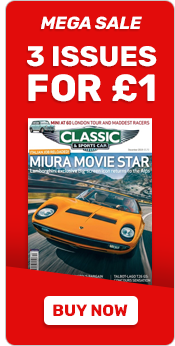 Classic & Sports Car Offer