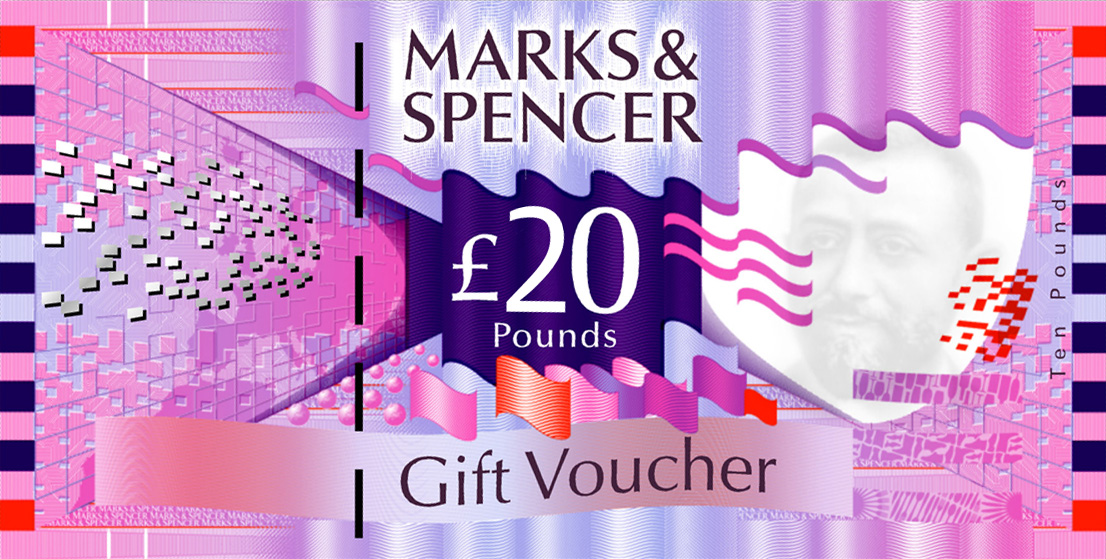 M&S £20 Gift Card