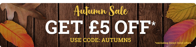 Autumn Sale - £5